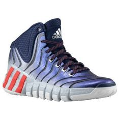 buy online 9640d 77a3c adidas Crazy Quick 2 - Mens - NavyLight ScarletWhite