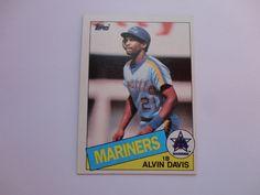 Alvin Davis 1985 Topps Baseball Card