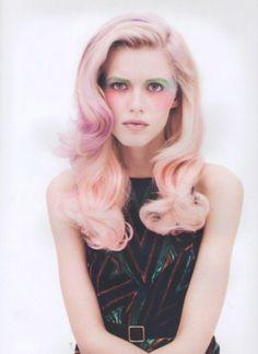 Pastel hair - Pink hair #pastelhair