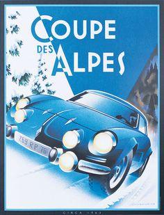 Alain, Levesque, Coupe des Alpes, Renault, Alpine