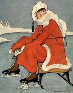 Merry Early 30s Christmas 3 hoodoothatvoodoo:  1931 Unknown Artist