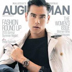 Eddie Peng Embraces Nautical Sophistication for August Man Malaysia   SENATUS