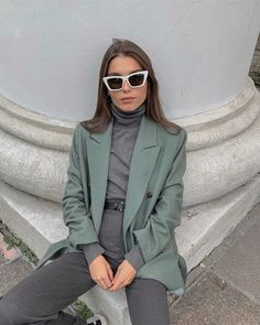 Fashion Tips Casual .Fashion Tips Casual Blazer Outfits Casual, Komplette Outfits, Fall Fashion Outfits, Look Fashion, Fashion Trends, Classy Fashion, Hijab Fashion, Indian Fashion, Men Fashion