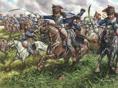 French counterattack at Waterloo.