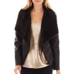 Worthington® Fur Jacket - JCPenney