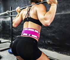 "Lifting Belt Pink Panther 4"" Unbroken Designs"