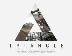 """Check out this @Behance project: """"Triangle Minimal Powerpoint Template"""" https://www.behance.net/gallery/43146185/Triangle-Minimal-Powerpoint-Template"""