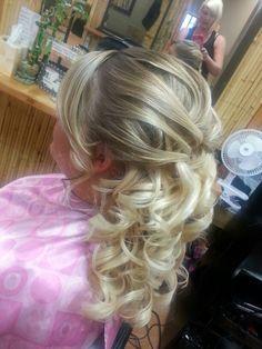 Wedding hair marykcolorz Sahair Salon