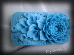 Thai Carving Lotus soap, hand carved bar soap, blue soap carved Lotus, lotus carving flower, Blue soap flower figurine,Thai Carving soap art by ABCarving on Etsy