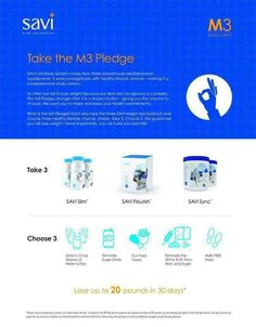 Join me and take the M3 PLEDGE! Get a head start with $10 off your first order - https://www.modere.com/?referralCode=031587