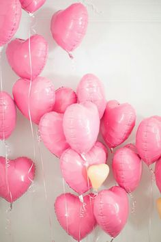 balloons pink heart wedding brides of adelaide magazine
