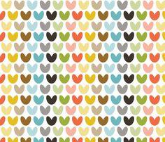 hearts_multi fabric by bunnypumpkin on Spoonflower - custom fabric