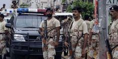 #Rangers recovered cache of #weapons, #ammunition in #Karachi's #Baldia Town