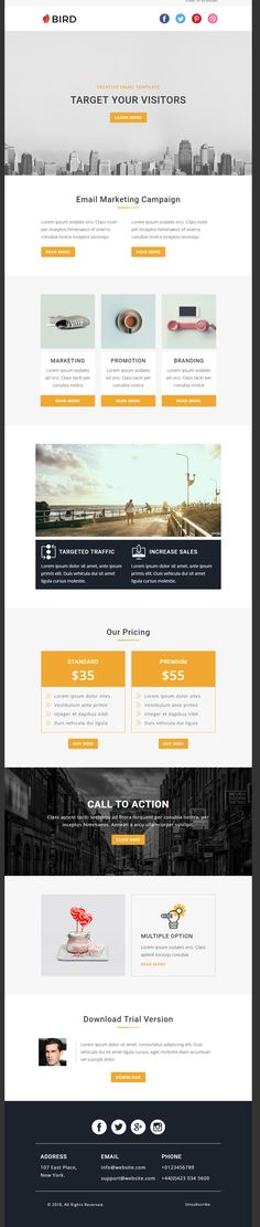 I Will Update Existing HTML Email Template Design