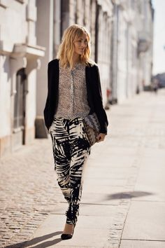 Mix up your prints for a next level outfit