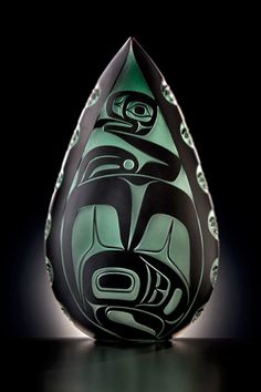 Preston Singletary's artistic direction shifted in the early 1990's to re-connecting with his Native American influences and his Tlingit roots.
