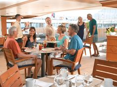 Waves Grill   #visoncruise #cruise #oceaniacruises