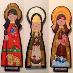 Artesanias Virgenes En Mdf - Bs. 3.800,00 en MercadoLibre