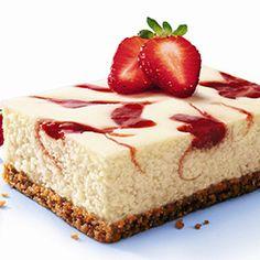 i love me some cheesecake! Cheescake Recipe, Easy Cheesecake Recipes, Cheesecake Cookies, Sweets Recipes, No Bake Desserts, Simple Cheesecake, Healthy Recipes, Strawberry Swirl Cheesecake, How Sweet Eats
