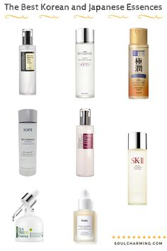 The Best Hydrating and Brightening Korean and Japanese Essences What is Essence? When do we use an essence? Check out my blog for more info