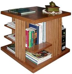 Merveilleux A Side Table That Doubles As A Bookcase? Yes, Please!
