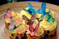 ebay butterfly cupcake topper