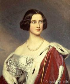 Joseph Karl Stieler - Königin Marie von Bayern / Gem.v.Stieler