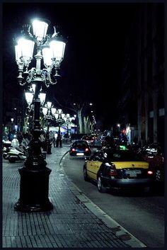 nacht in barcelona ∞