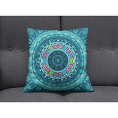 Boho Chic Hippie Mandala Throw Pillows Square Rectangle Many Sizes... ($22) ❤ liked on Polyvore featuring home, home decor, throw pillows, decorative pillows, home & living, home décor, purple, purple home accessories, rectangle throw pillow and teal blue throw pillows