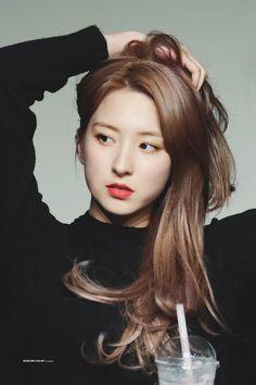 Eunseo - WJSN Yuehua Entertainment, Starship Entertainment, Pretty Asian, Beautiful Asian Girls, South Korean Girls, Korean Girl Groups, Bubblegum Pop, Air Force Blue, Girl Sday