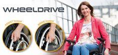 Ve más allá con el Wheeldrive, el mejor asistente para sillas de ruedas.
