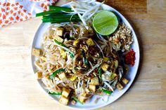crispy tofu pad thai