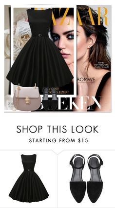 """""""Romwe I"""" by emina-095 ❤ liked on Polyvore featuring Cuero"""