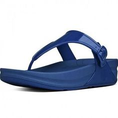 691d86efd82afd navy jelly shoes - FitFlop Sandals Superjelly Mazarine Blue  jellyshoes  Pool Shoes