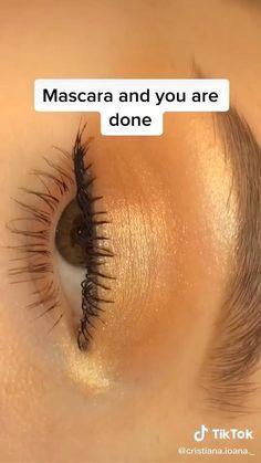 Natural Eye Makeup, Eye Makeup Tips, Skin Makeup, Glam Makeup, Simple Eye Makeup Video, Eye Makeup Tutorials, Easy Eye Makeup, Easy Makeup Looks, Makeup Hacks Videos