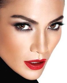 makeup looks | ... Home: Jennifer Lopez's Holiday Makeup Look (L'Oreal) - Beautelicious