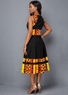 African Fashion Ankara, Latest African Fashion Dresses, African Print Fashion, Women's Fashion Dresses, Africa Fashion, African Style, Asian Fashion, Short African Dresses, African Print Dresses