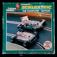 Juego Amstrad CPC Cinta - Scalextric (1985)