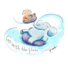 Today's Doodle: let it flow