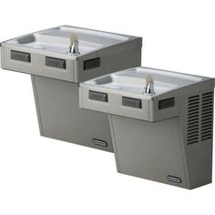 Elkay Lmabftlddsc Filtered Wall Mount Bi-Level ADA Cooler, Multicolor