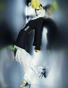 Julia Saner, photo by Greg Kadel, Numero Fashion Poses, Vogue Fashion, Fashion News, Fashion Art, Fashion Editorials, High Fashion, Lifestyle Photography, Editorial Photography, Glamour Photography