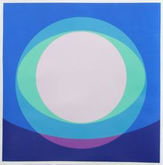 Artist: Herbert Bayer, Austrian (1900 - 1985) Title: Untitled 5 Year: 1968 Medium: Serigraph, Signed, Dated, Numbered in Pencil Edition: 70 Size: 37 x 37 inches