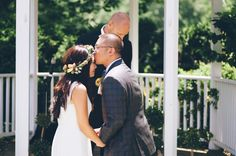 Julice & Steve's picnic, natural DIY Maryland wedding at Woodlawn Manor | Images: An Endless Pursuit
