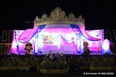 Svm Events : Cradle Ceremony theme Decoration Event