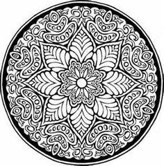 ԑ̮̑♦̮̑ɜ~Mandala para Colorear~ԑ̮̑♦̮̑ɜ