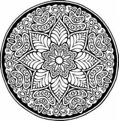 ... : Free clip art: Designs, frames, Islamic patterns, Mandala designs