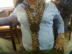 Bufanda tejida en crochet