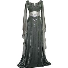 Medieval dress with night imprint