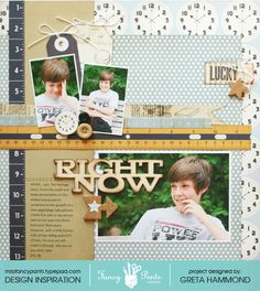 Right Now layout by Greta Hammond using the Collecting Moments collection by Fancypantsdesigns.com