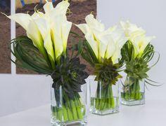 Flower decor and arrangement/succulents/calla lily for official event